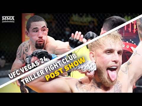 Jake Paul vs. Ben Askren & UFC Vegas 24 Post Show LIVE Stream - MMA Fighting