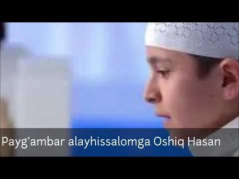 Rasululloh (s.a.v.)ga oshiq Hasan