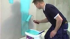 Kylpyhuoneen vedeneristys ja laatoitus, osa 1