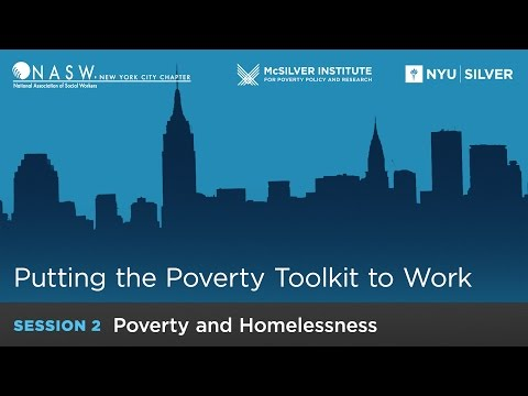 Putting the Poverty Toolkit to Work: Poverty and Homelessness