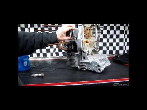 BMW Service - Oilhead Cam Chain Guide Rail Replacement