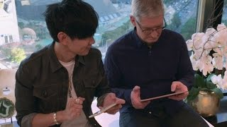 JJ battles Tim Cook on GarageBand