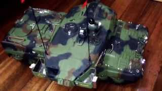 heng long 1 16 leopard2 a6 bb bullet shoot with 360 turret rotation