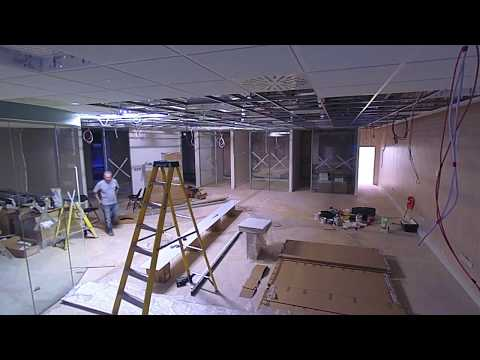 NFU Mutual Welshpool office refurbishment time-lapse