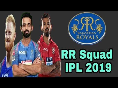 rajasthan royals team 2019