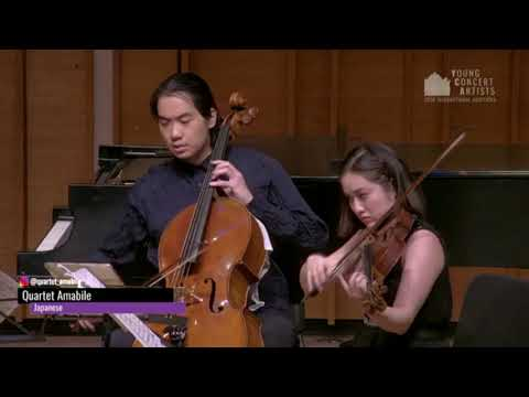 Quartet Amabile | Mendelssohn: Quartet No. 2, I. Adagio -- Allegro vivace