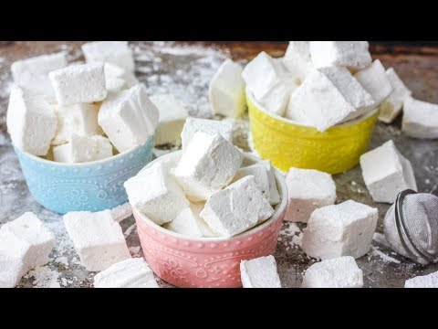 HOW TO MAKE MARSHMALLOWS   homemade marshmallows