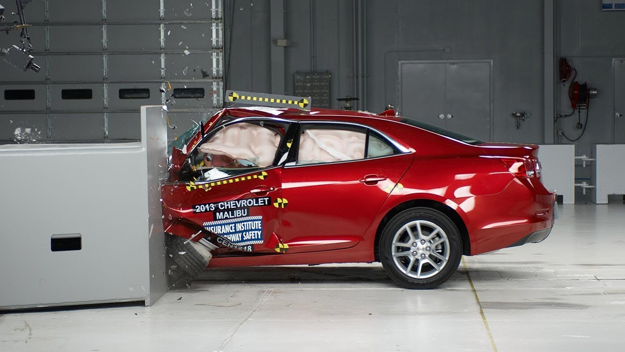2017 Chevrolet Malibu Driver Side Small Overlap Iihs Crash Test