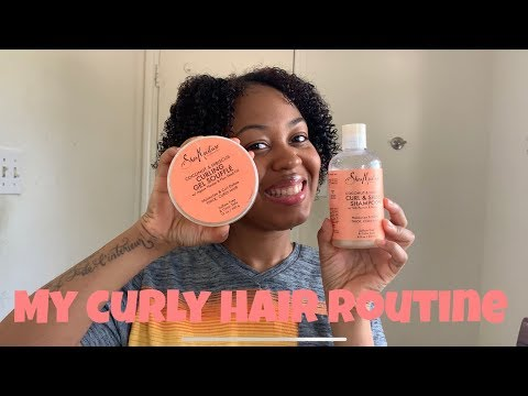 My Curly Hair Routine On Natural Hair| Jasmine Ineice