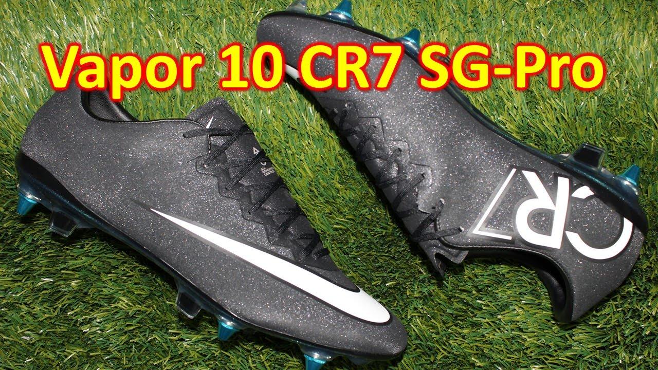 Izar Por Vinagre  Nike CR7 Mercurial Vapor 10 SG-Pro Gala Glimmer - Review + On Feet - YouTube