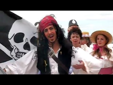 Pirates and Pinafore Take Over HMS Warrior