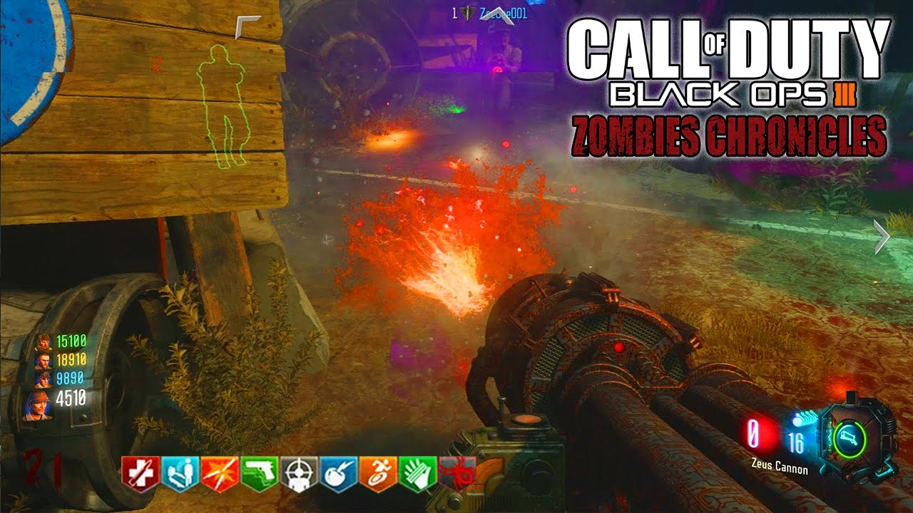 ASCENSION EASTER EGG REMASTERED GAMEPLAY!!! - BLACK OPS 3 ZOMBIE CHRONICLES  DLC 5 GAMEPLAY!