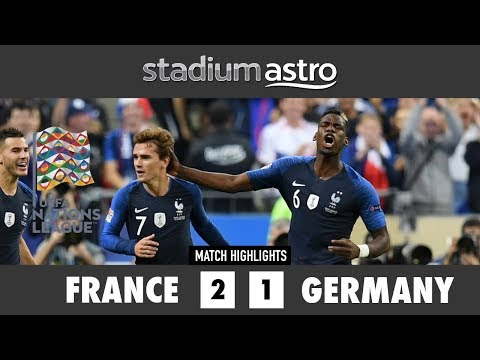 France 2 - 1 Germany | UEFA Nations League Highlights| Astro SuperSport