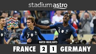 Download Video France 2 - 1 Germany | UEFA Nations League Highlights | Astro SuperSport MP3 3GP MP4