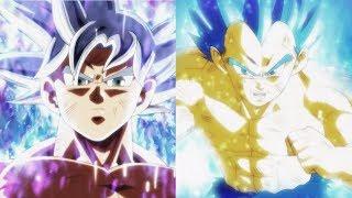 DBZMacky Ultra Instinct Goku vs Vegeta Power Levels (Dragon Ball Super)