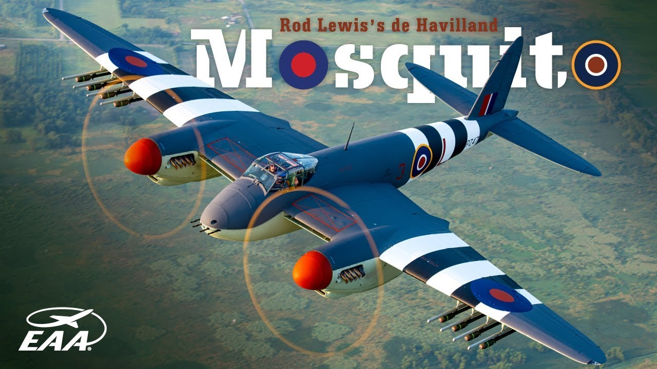 Rod Lewis' de Havilland Mosquito