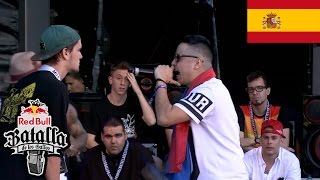 Giorgio M vs Nay - Octavos: Barcelona, España 2017 | Red Bull Batalla De Los Gallos