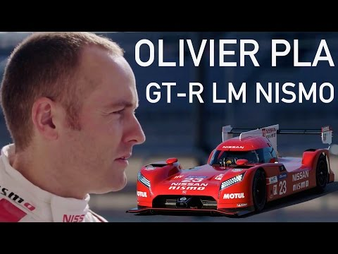 Olivier Pla: GT-R LM NISMO Driver