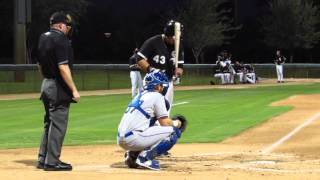 Corey Zangari full AB base hit 8-30-2015