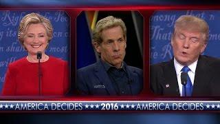 Skip Bayless Presidential Debate #2 | UNDISPUTED