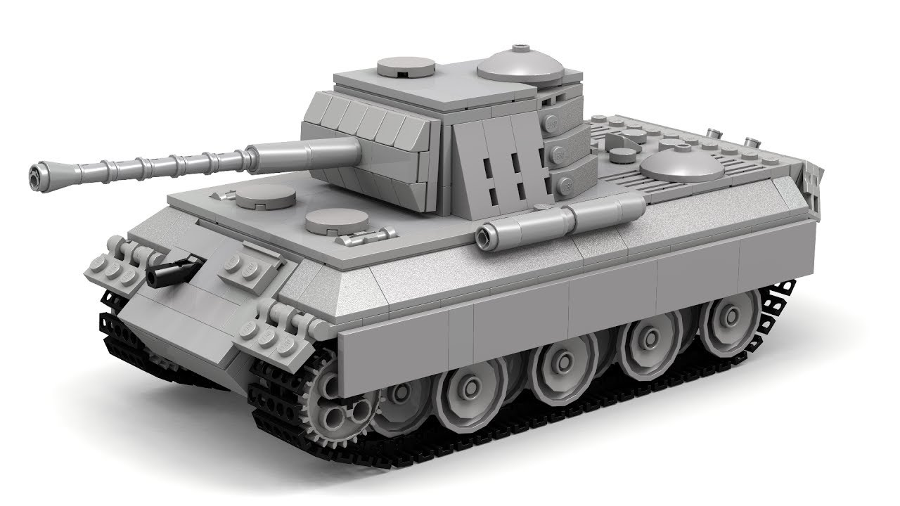 lego wwii panther tank