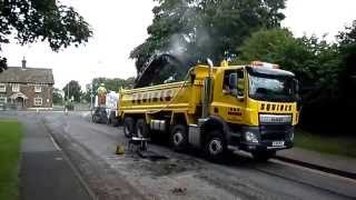 Burley Road, Bull Lane, Jordan Road Surfacing Ltd, A & V Squires Plant, Lafarge Tarmac, Oakham