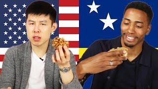 Tasty Producers Swap Their Favorite Snacks • Alvin & Chris • Tasty