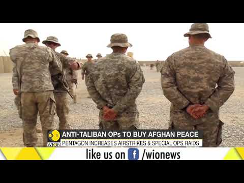 U.S. heightens attacks on Taliban in push toward peace in Afghanistan Mp3