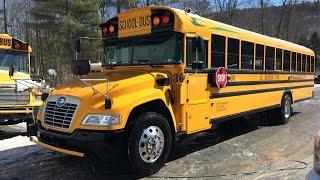 RoR - 2016 Bluebird Vision v4.0 School Bus Route