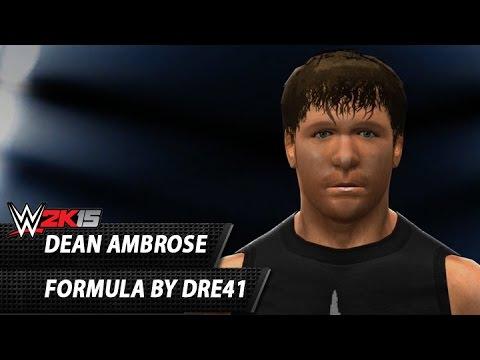 WWE 2K15: Dean Ambrose CAW Formula By Dre41