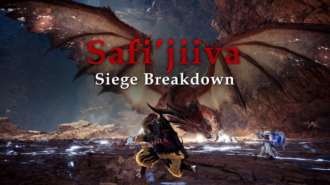 Mhw Iceborne Safi Jiiva Siege Breakdown Youtube