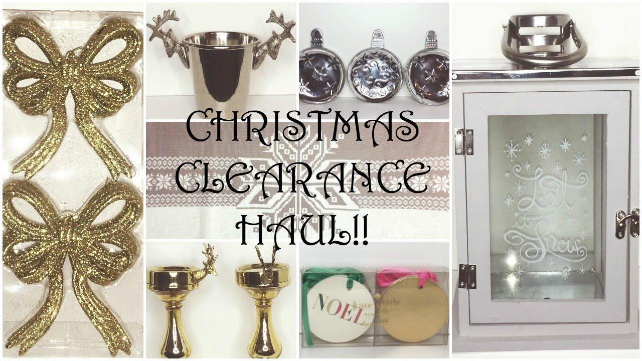 Christmas Decor Clearance Haul Homegoods Tj Ma World Market