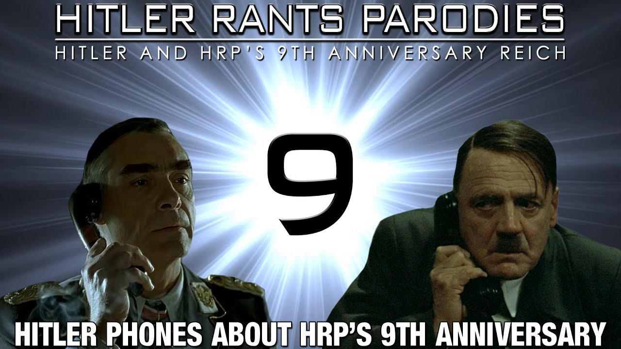 Hitler phones about HRP's 9th Anniversary