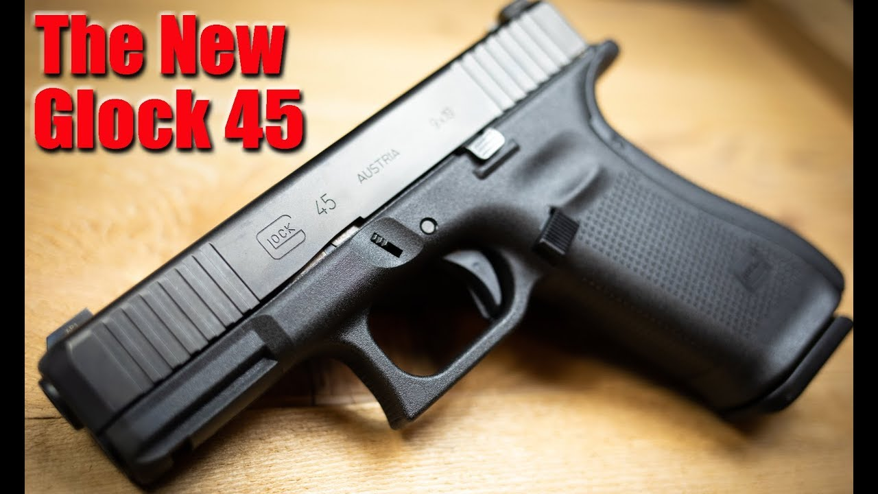 The New Glock 45 9mm First Shots The Best Glock Yet Youtube