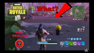 Fortnite we found a weird glitch with Redlion (Read Description)