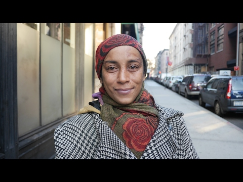 Homeless woman has been in New York City's shelter system since 2005.