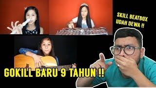 GILAA !! GA NGERTI LAGI BOCAH KECIL BARU 9 TAHUN JAGO PARAH BEATBOXNYA !!