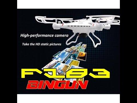 เครื่องบินบังคับติดกล้อง HD F183 JJRC H8C Camera ร้านบินกัน www.bingun.com