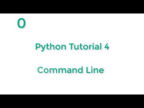 Command Line tutorial with Git Bash   Python tutorial 4 thumbnail