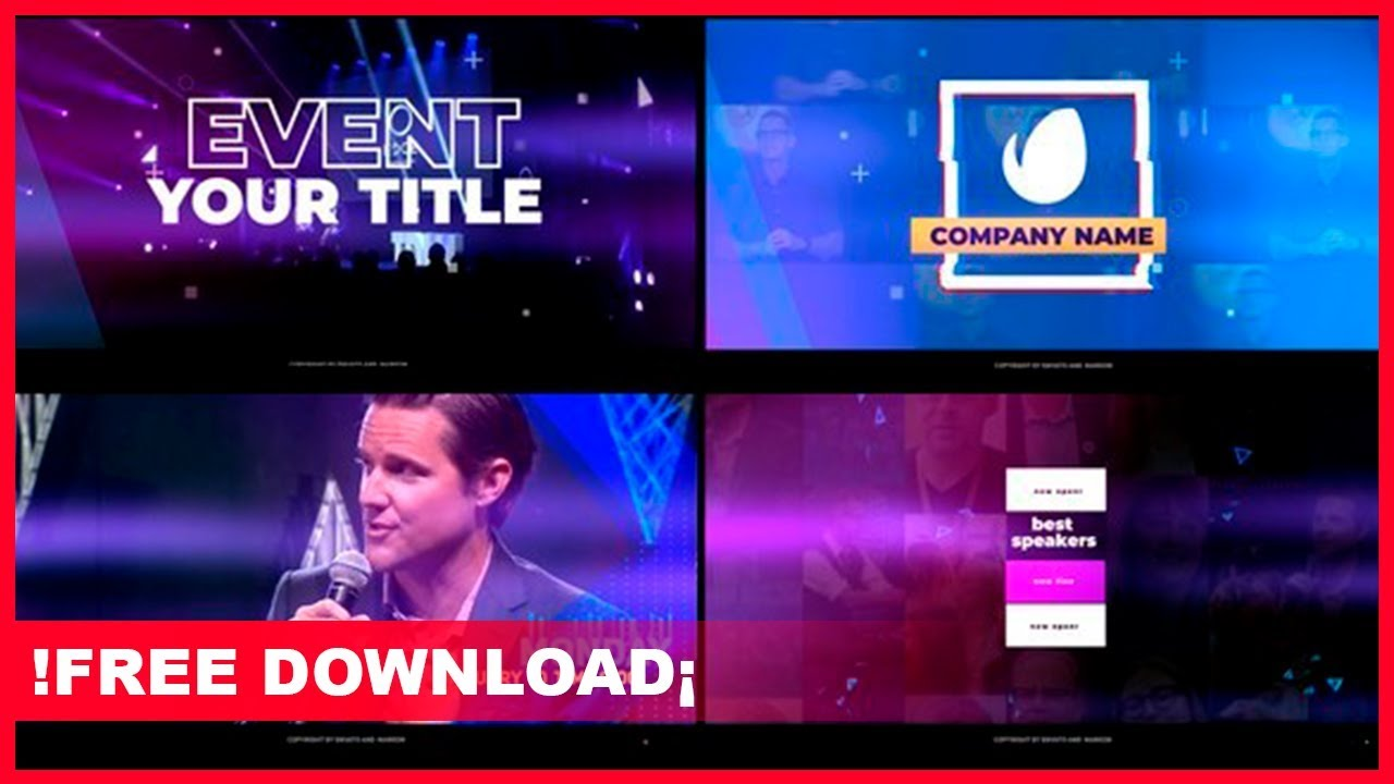 EVENT PROMO 22703618 Free After Effects Template