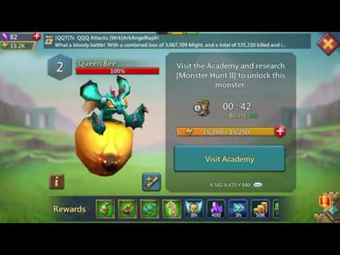 [UPDATED] Lords Mobile How To Attack Level 2 Monster And Claim Reward