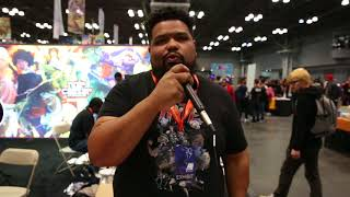 Noir Caesar at Anime NYC