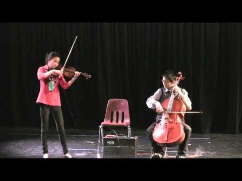 Secrets by OneRepublic for Violin and Cello, performed by Nathan Chan and Clara Chan