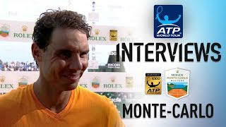 Nadal Talks About Monte-Carlo Masters Win