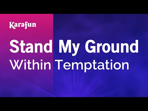 Karaoke Stand My Ground - Within Temptation *