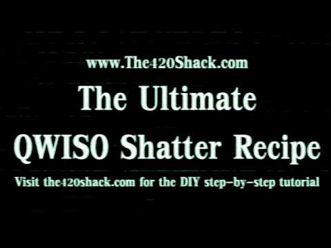 Ultimate QWISO Shatter Hash Recipe from The420Shack