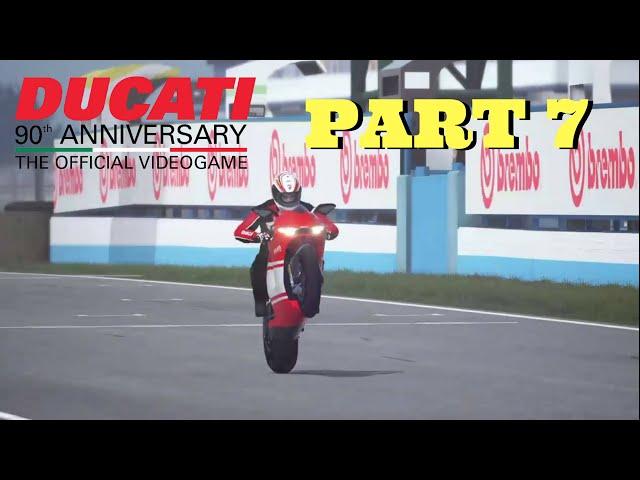 Ducati 90th Anniversary Part 7 - DESMOSEDICI RR 2006 - Full Game - PS4 Gameplay