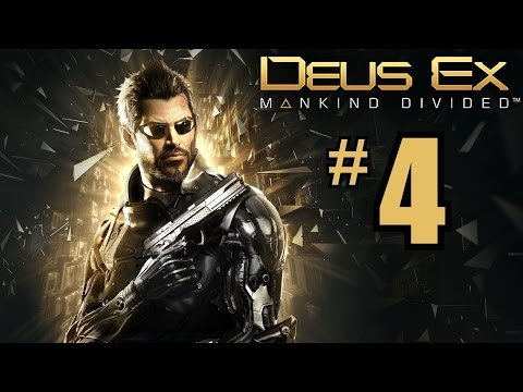 SHOOTING RANGE - Deus Ex: Mankind Divided Gameplay Walkthrough Part 4 - PC 1080P Let's Play