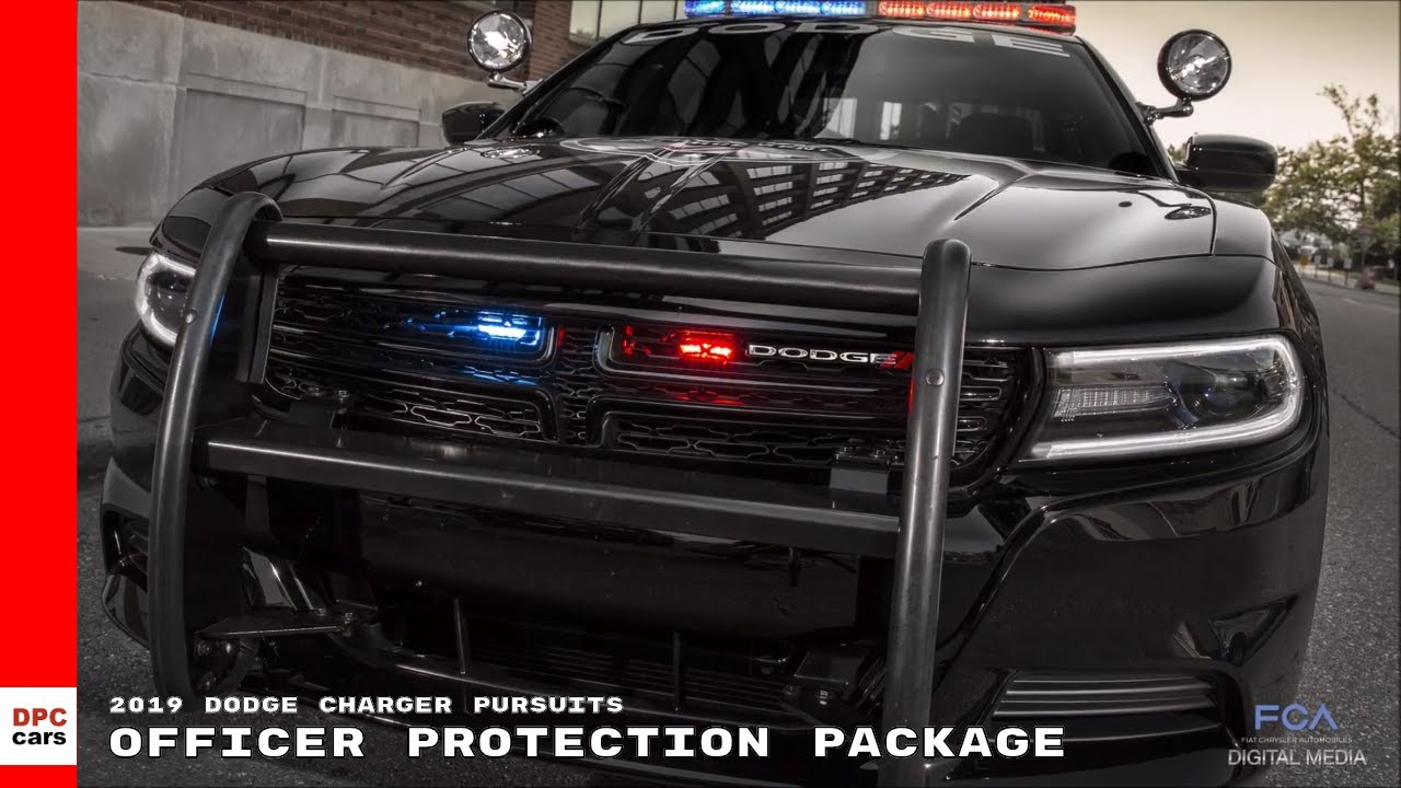 Dodge Charger Police Car >> 2019 Dodge Charger Pursuits Officer Protection Package ...