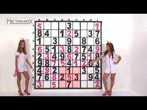 Instructivo de cómo se llena un Sudoku----